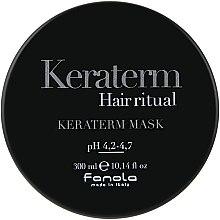 Profumi e cosmetici Maschera rigenerante per capelli danneggiati - Fanola Keraterm Mask