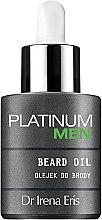 Profumi e cosmetici Olio da barba - Dr Irena Eris Platinum Men Beard Oil