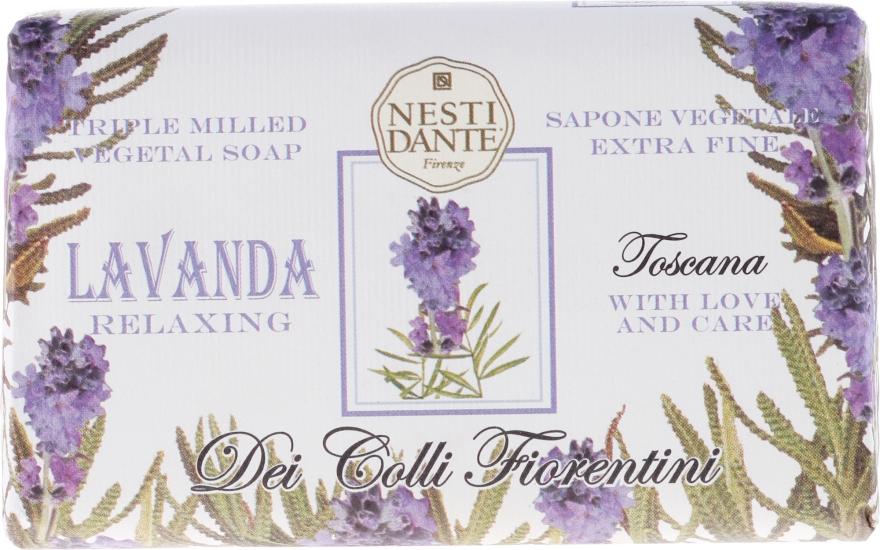 """Sapone vegetale extrafine """"Lavanda relaxing"""" - Nesti Dante Dei Colli Fiorentini Soap"""