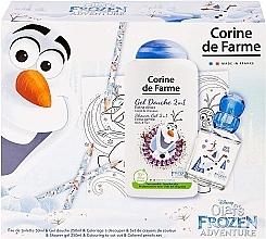 Profumi e cosmetici Corine de Farme Olaf - Set (edt/50ml +sh/gel/250ml + accessories)