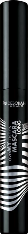 "Mascara ciglia ""Volume e lunghezza"" - Deborah Milano Love My Lashes Mascara Long"