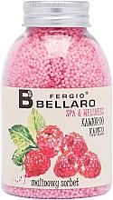 """Profumi e cosmetici Palline da bagno ammorbidenti """"Sorbetto al lampone"""" - Fergio Bellaro Raspberry Sorbet Bath Caviar"""