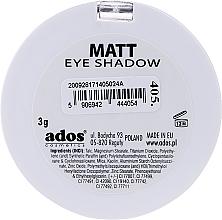 Ombretto opaco - Ados Matt Effect Eye Shadow — foto N10