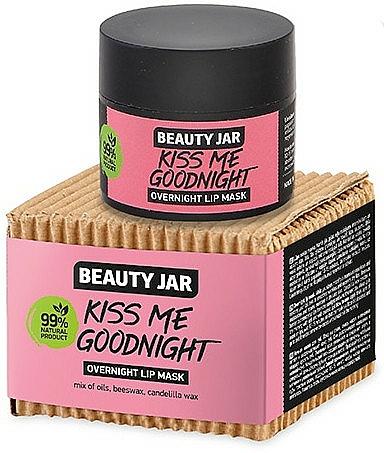Maschera labbra da notte - Beauty Jar Kiss Me Goodnight Overnight Lip Mask