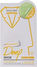 Profumi e cosmetici Maschera viso sbiancante alla citronella - Dewytree Whitening Deep Mask