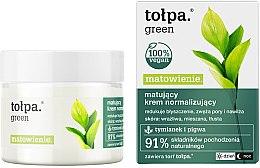 Profumi e cosmetici Crema viso - Tolpa Green Mattifying Normalizing Cream