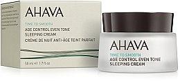 Profumi e cosmetici Crema rigenerante levigante - Ahava Age Control Even Tone Sleeping Cream