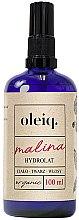 Profumi e cosmetici Idrolato lampone per viso, corpo e capelli - Oleiq Hydrolat Raspberry