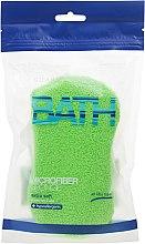 Profumi e cosmetici Spugna da bagno, verde chiaro - Suavipiel Microfiber Bath Sponge Extra Soft
