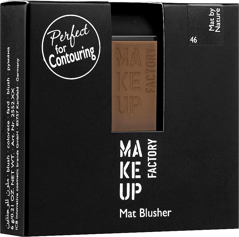 Blush opaco - Make Up Factory Mat Blusher