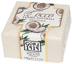 """Profumi e cosmetici Sapone """"Cocco"""" - Gori 1919 Coconut Natural Vegetable Soap"""