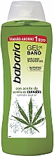 Profumi e cosmetici Gel doccia alla cannabis - Babaria Cannabis Oil Bath And Shower Gel