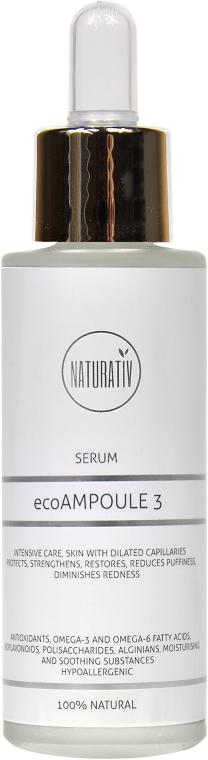 Siero viso - Naturativ ecoAmpoule 3 Serum — foto N1