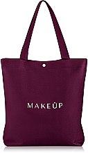 """Profumi e cosmetici Shopping bag """"Go Easy"""" marsala - MakeUp"""