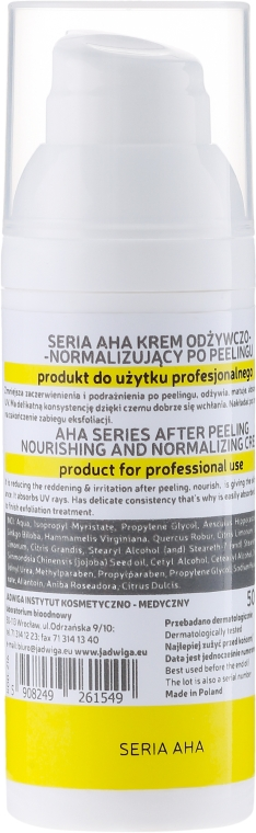 Crema peeling nutriente - Jadwiga AHA Cream — foto N2