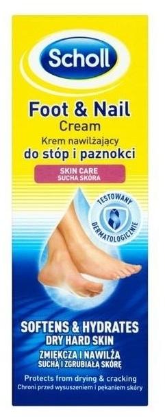 Crema per i piedi - Scholl Moisturizing Foot and Nail Cream