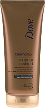 Profumi e cosmetici Lozione abbronzante per corpo - Dove Derma Spa Summer Revived Medium To Dark Skin Body Lotion