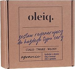 Profumi e cosmetici Set - Oleiq (hydrolat/100ml + oil/100ml + oil/30ml)