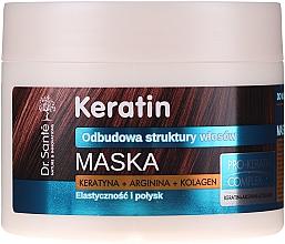 Profumi e cosmetici Maschera per capelli opachi e fragili - Dr. Sante Keratin Mask
