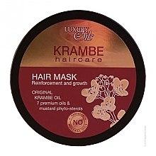 Profumi e cosmetici Maschera per capelli con oli organici di krambe abissino e zafferano - Argan Haircare