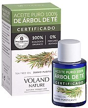 Profumi e cosmetici Olio dell'albero del tè naturale - Voland Nature Tea Tree Oil