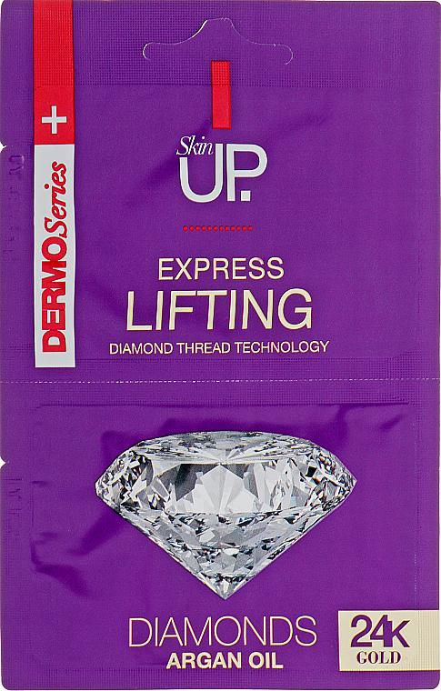 Maschera viso liftante express con oro 24k e diamanti - Verona Laboratories DermoSerier Skin Up Express Lifting Diamonds 24k Gold