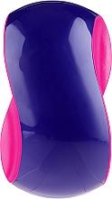 Profumi e cosmetici Spazzola per capelli, viola-rosa - Twish Spiky 1 Hair Brush Purple & Deep Pink