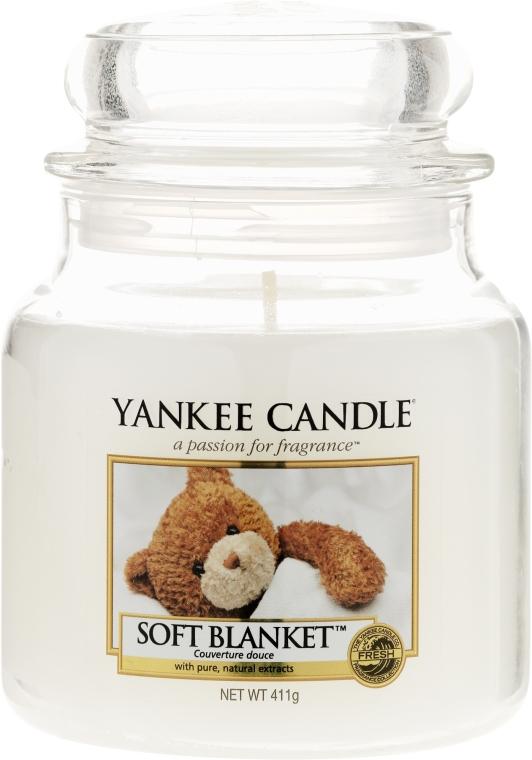 Candela in vetro - Yankee Candle Soft Blanket