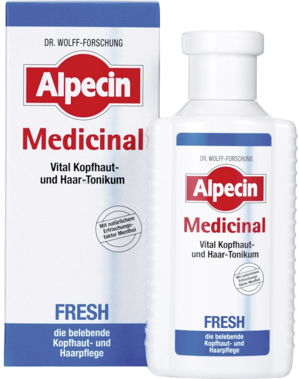 Tonico rivitalizzante per cuoio capelluto grasso - Alpecin Medical Fresh — foto N1