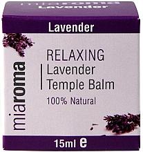 Profumi e cosmetici Balsamo viso con olio essenziale di lavanda - Holland & Barrett Miaroma Relaxing Lavender Temple Balm