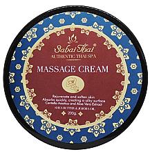 Profumi e cosmetici Crema da massaggio con centella e aloe vera - Sabai Thai Jasmine Aroma Massage Cream
