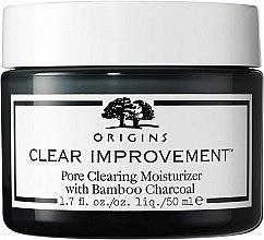 Profumi e cosmetici Crema viso - Origins Clear Improvement Pore Clearing Moisturizer With Bamboo Charcoal