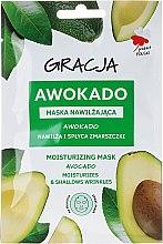 """Profumi e cosmetici Maschera idratante """"Avocado"""" - Gracja Moisturizing Mask"""