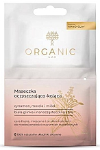 Profumi e cosmetici Maschera per pelli grasse e miste - Organic Lab Cleansing And Soothing Mask Cinnamon Apricot And Honey