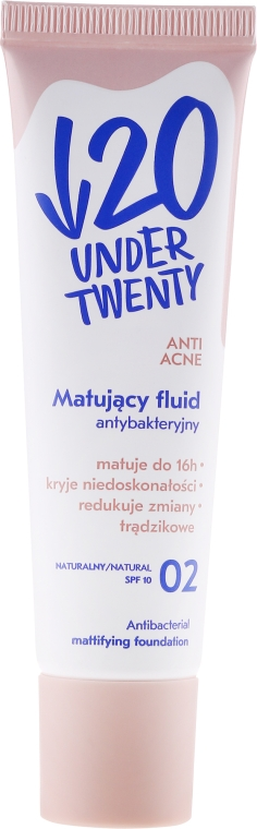 Fluido antibatterico opacizzante - Under Twenty Anti! Acne
