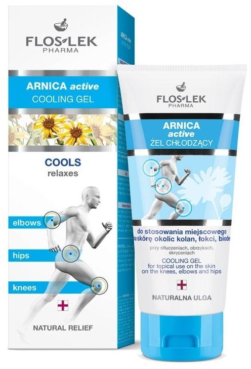 Gel rinfrescante - Floslek Arnica Active Cooling Gel