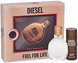 Profumi e cosmetici Diesel Fuel for Life Homme - Set (edt/50ml + sh/gel/50ml)