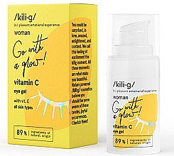 Profumi e cosmetici Gel contorno occhi alla vitamina C - Kili·g Woman Eye Gel