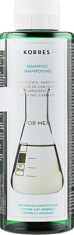 Shampoo contro la caduta dei capelli da uomo - Korres Pure Greek Olive Shampoo — foto N1