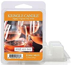 Profumi e cosmetici Cera per lampada aromatica - Kringle Candle Rose All Day Wax Melts