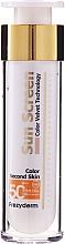 Profumi e cosmetici Crema solare viso - Frezyderm Sun Screen Color Velvet Face Cream SPF 50+