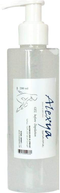 Gel antisettico pre-depilatorio - Alexya Gel Before Depilation