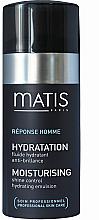 Profumi e cosmetici Emulsione che controlla la lucentezza oleosa - Matis Reponse Homme Moisturising Shine Control Hydrating Emulsion