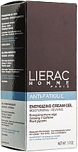 Profumi e cosmetici Crema gel energetica - Lierac Homme Energizing Cream-Gel