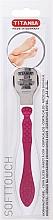 Profumi e cosmetici Dispositivo per pedicure in acciaio inossidabile, rosa - Titania