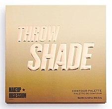 Profumi e cosmetici Palette per contouring viso - Makeup Obsession Throw Shade Contour Palette