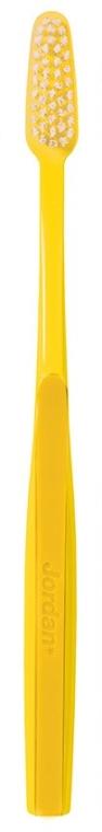 "Spazzolino da denti rigido ""Classic"", giallo - Jordan Classic Hard Toothbrush — foto N2"