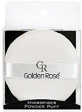 Profumi e cosmetici Spugnetta cipria - Golden Rose Microfiber Powder Puff