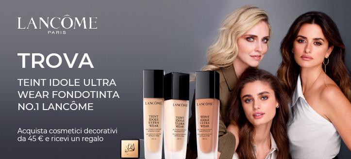Acquista cosmetici decorativi Lancôme da 45 € e ricevi un regalo
