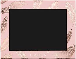 Profumi e cosmetici Astuccio per cosmetici, rosa - Nabla Liberty Six Customizable Palette